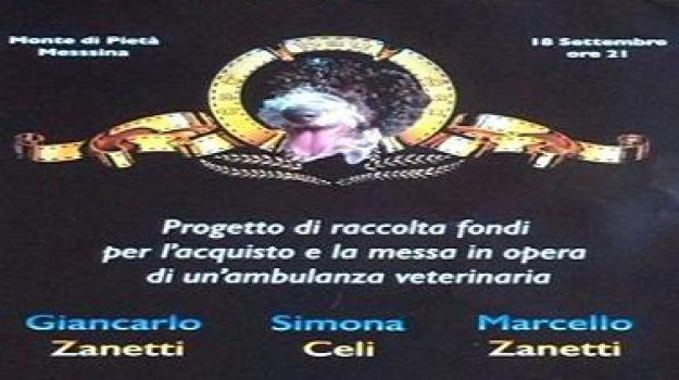 monte pietà, spettacolo beneficenza, Messina, Archivio