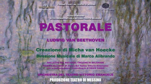 beethoven, marco alibrando, micha van hoecke, pastorale, taormina, teatro di messina, Sicilia, Cultura