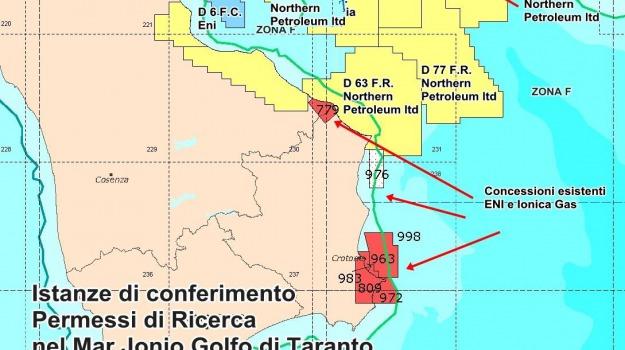 calabria, giuseppe graziano, jonio, mario oliverio, regione, trivellazioni, Calabria, Archivio