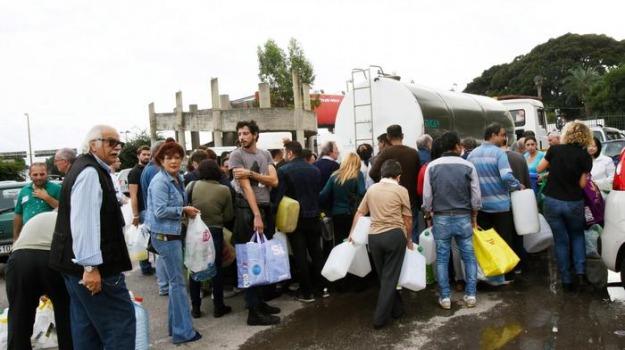emergenza idrica, messina, Messina, Archivio