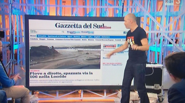 crisi idrica, diego bianchi, gazebo, messina, Messina, Archivio