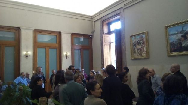 emergenza idrica, palazzo zanca, Messina, Archivio