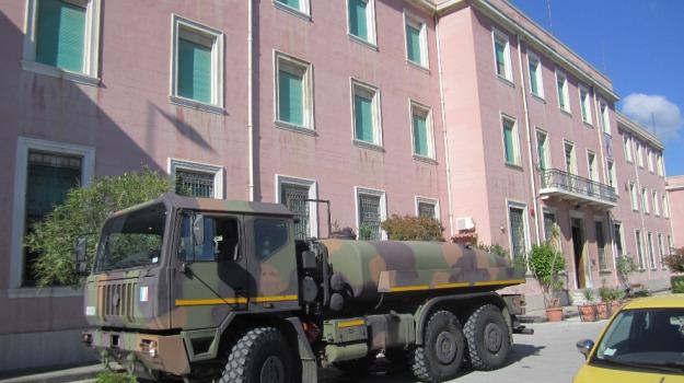 crisi idrica, esercito, Messina, Archivio