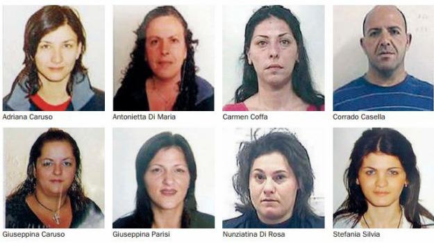 gang donne, Sicilia, Archivio