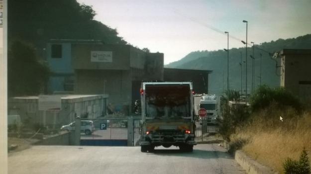 conferimento rifiuti, impianto alli, raccolta rifiuti, sambatello, Reggio, Calabria, Cronaca