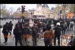 Tensione a Parigi, caricato un corteo non autorizzato