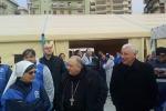 I 370 migranti accolti dal vescovo Morosini
