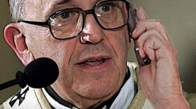 cosenza, mendicino, papa francesco, telefonata, Cosenza, Calabria, Archivio