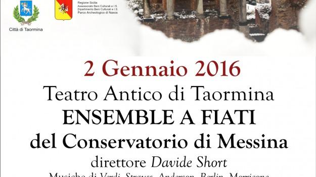 L'Ensemble a fiato del conservatorio Corelli di Messina, taormina arte, Messina, Archivio