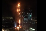 VIDEO: Dubai, spaventoso incendio in un grattacielo