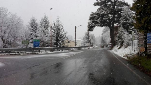 calabria, catanzaro, maltempo, neve, pollino, sila, Catanzaro, Cosenza, Calabria, Archivio
