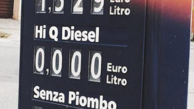 benzina, gasolio, lamezia terme, Catanzaro, Archivio