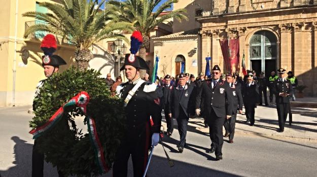 Commemorazione carabinieri uccisi a Locri, scicli, Reggio, Sicilia, Calabria, Archivio