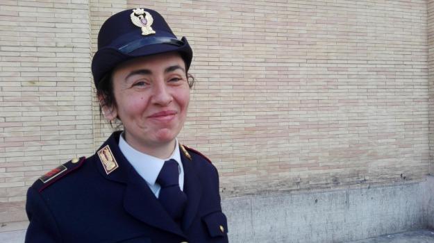 clochard, maria capone, parto, poliziotta calabrese, Calabria, Archivio