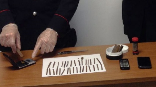 arresto droga, carabinieri, vittoria, Sicilia, Archivio