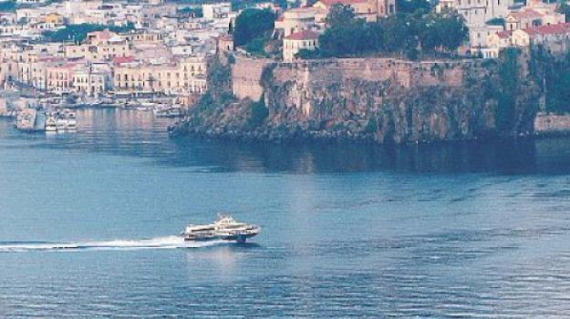 eolie, sirene allarme, Messina, Sicilia, Archivio