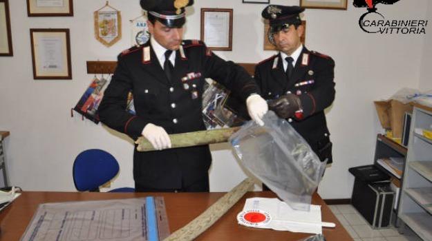 arrestato rumeno, Rapina marocchino, vittoria, Sicilia, Archivio