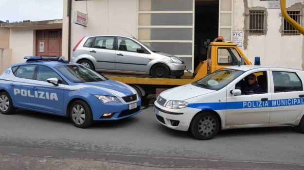 arresto polizia, Serie di furti, Simone Giannone, vittoria, Sicilia, Archivio
