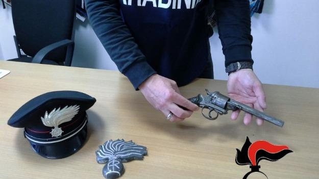 arresto albanese, carabinieri, scicli, sequestro pistola, Sicilia, Archivio