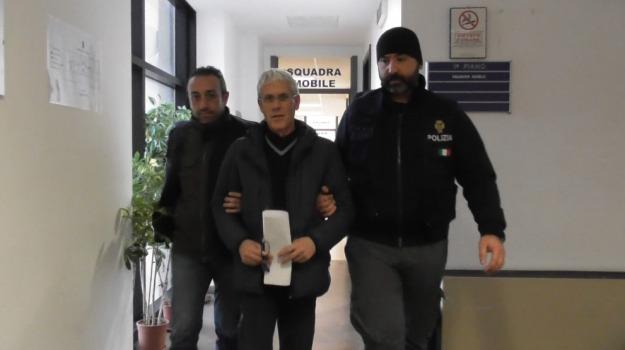 Arresto Ventura, ragusa, squadra mobile, vittoria, Sicilia, Archivio