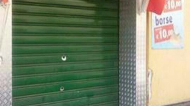 barcellona pozzo di gotto, colpi di fucile, negozio di scarpe, Messina, Archivio