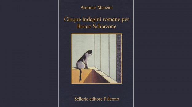 antonio manzini, Cinque indagini romane per Rocco Schiavone, IoLeggo