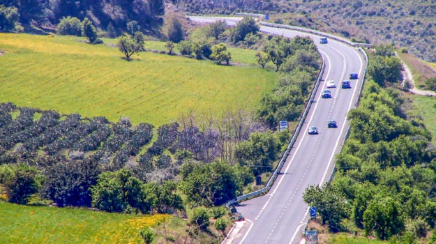 Autostrada Ragusa-Catania, Lavori in autunno, progetto esecutivo, Sicilia, Archivio