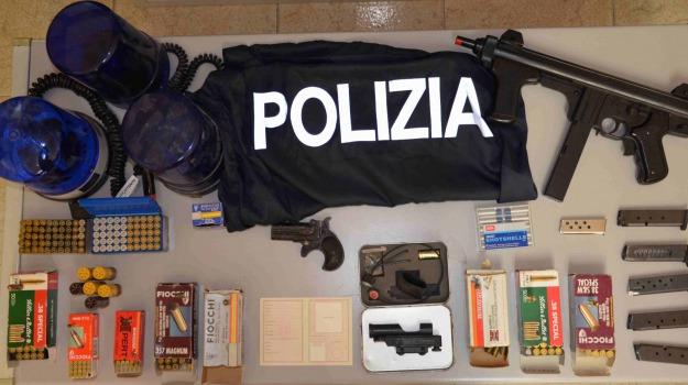 arsenale, Pistola e centinaia di, Pregiudicato deceduto, vittoria, Sicilia, Archivio
