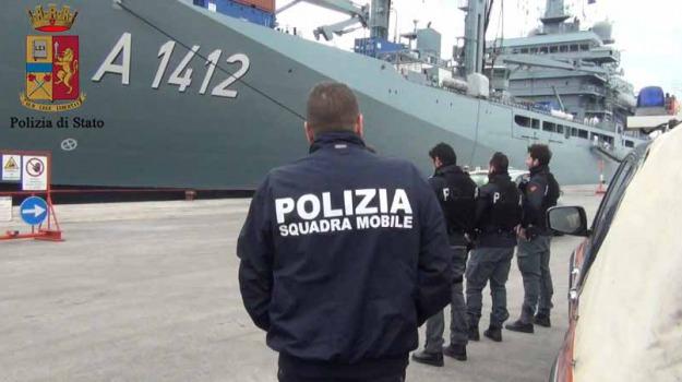 Arrestati sei scafisti, pozzallo, sbarco migranti, Sicilia, Archivio