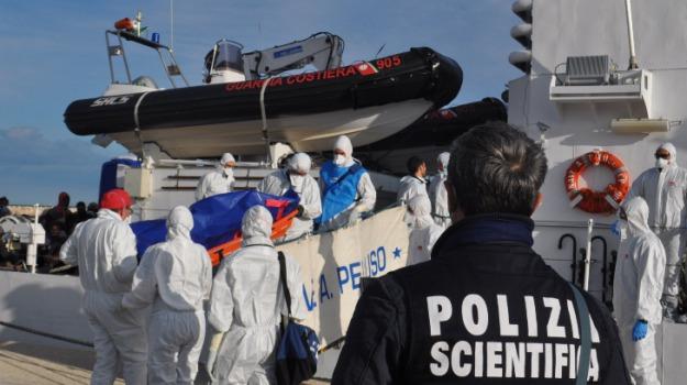 arrestato scafista, migrante morto, polizia, pozzallo, sbarco migranti, senegalese, Sicilia, Archivio