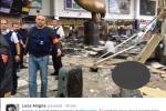 Le immagini degli attentati in Belgio