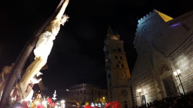 arcivescovo, barette, pasqua, settimana, Messina, Archivio