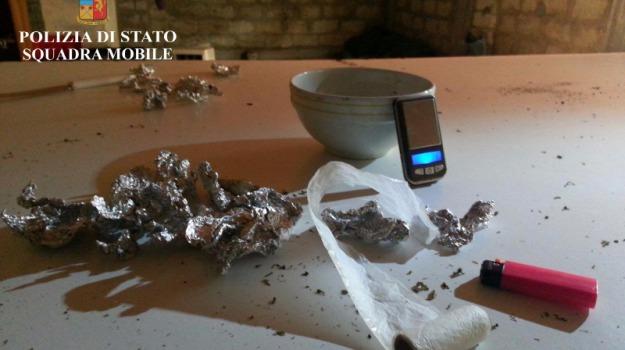 40 grammi marijuana, Biagio Meli, comiso, polizia, sequestro droga, Sicilia, Archivio