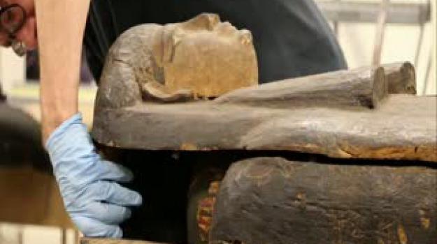 mummie, Messina, Sicilia, Archivio