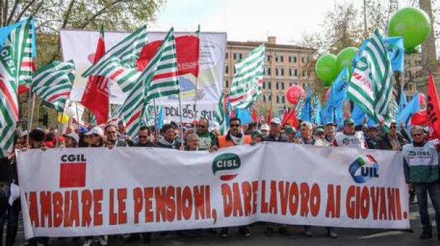 fornero, protesta, sindacati, Sicilia, Archivio, Cronaca