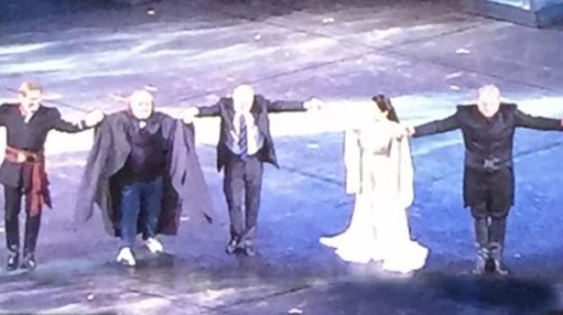 Francesco Anile, Met di New York, opera, Otello, polistena, Sicilia, Cultura