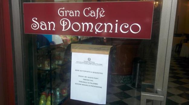 gran cafè san domenico, palermo, sequestrato, Sicilia, Archivio