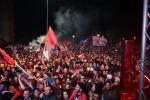 Crotone: la festa dei tifosi (Foto)