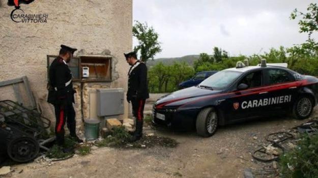 acate, furto energia elettrica, Sicilia, Archivio