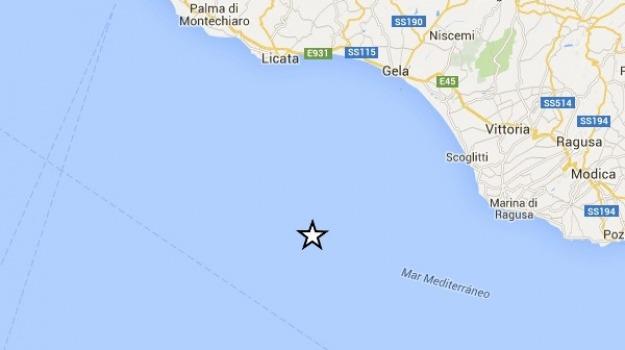 Costa ragusana, Mar Mediterraneo, ragusa, terremoto, Sicilia, Archivio