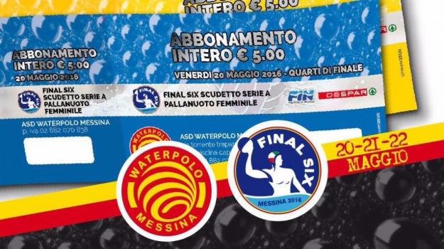final six scudetto, pallanuoto femminile, Messina, Archivio
