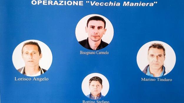 mafia barcellonese, operazione vecchia maniera, quattro arrestati, Messina, Sicilia, Archivio
