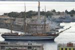 """La """"Vespucci"""" è in porto"""