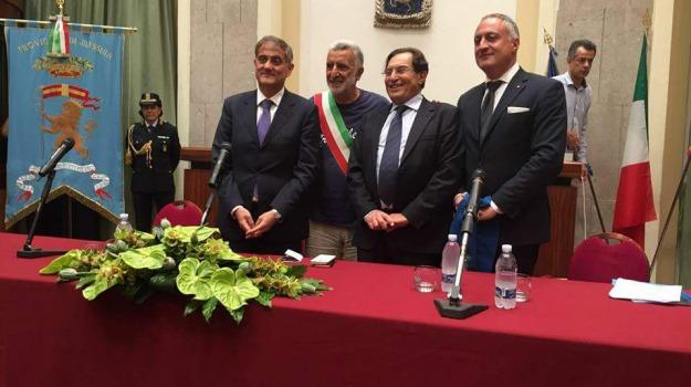 città metropolitana elezioni, Messina, Sicilia, Archivio