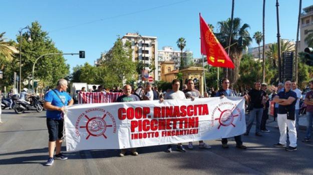 palermo, protesta fincantieri, Sicilia, Archivio