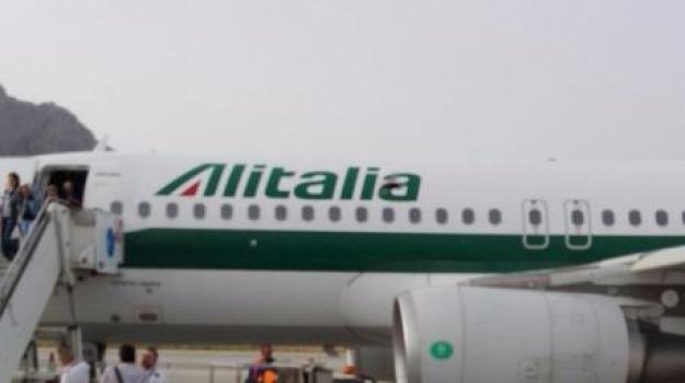 aereo, alitalia, investe uccelli, palermo, Sicilia, Archivio
