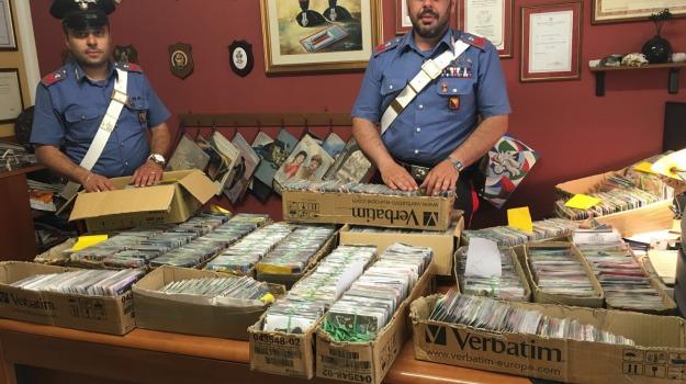 cambria, cd contraffatti, messina, Messina, Archivio