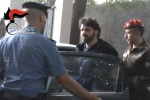 Foto: l'arresto di Fazzalari