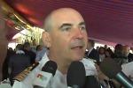 L'intervista al comandante della Vespucci