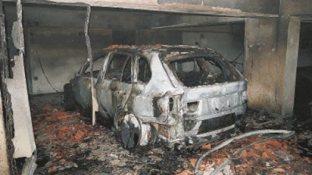 Incendio garage, Messina, Archivio